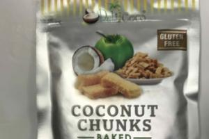 100% NATURAL HONEY BAKED COCONUT CHUNKS