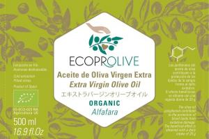 ORGANIC ALFAFARA EXTRA VIRGIN OLIVE OIL