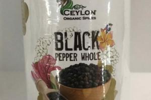 BLACK PEPPER WHOLE SPICES