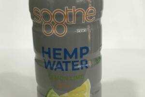 LEMON LIME SOOTHE HEMP WATER