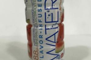 WATERMELON FLAVORED INFUSED 8.8 PH PURIFIED WATER ENHANCED WITH MINERALS & ELECTROLYTES