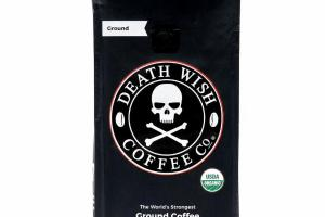 THE WORLD'S STRONGEST GROUND COFFEE