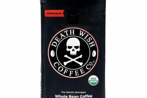THE WORLD'S STRONGEST WHOLE BEAN COFFEE