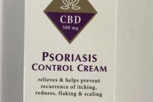 CBD 300 MG PSORIASIS CONTROL CREAM SALICYLIC ACID
