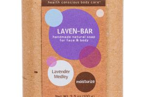 LAVEN-BAR FOR FACE & BODY, LAVENDER MEDLEY