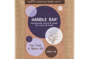 HANDLE BAR FOR FACE & BODY, TEA TREE & NEEM OIL