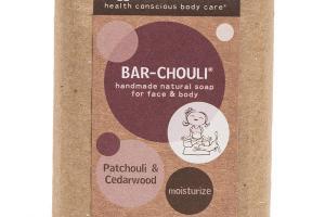 BAR-CHOULI FOR FACE & BODY, PATCHOULI & CEDARWOOD