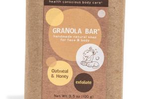 GRANOLA BAR FOR FACE & BODY, OATMEAL & HONEY