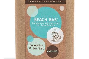 BEACH BAR FOR FACE & BODY, EUCALYPTUS & SEA SALT