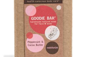 GOODIE BAR FOR FACE & BODY, PEPPERMINT & COCOA BUTTER