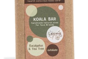 KOALA BAR FOR FACE & BODY, EUCALYPTUS & TEA TREE