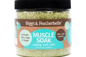 MUSCLE SOAK SOAKING BATH SALTS