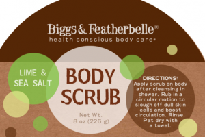BODY SCRUB, LIME & SEA SALT