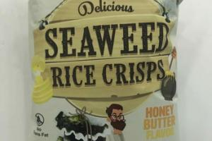 HONEY BUTTER DELICIOUS SEAWEED RICE CRISPS