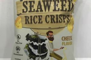 CHEESE DELICIOUS SEAWEED RICE CRISPS
