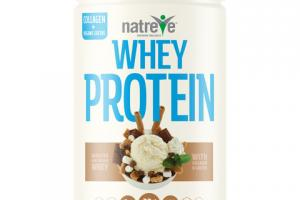 WHEY PROTEIN WITH COLLAGEN & GREENS POWDER, S'MORES SUNDAE
