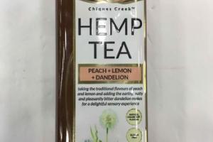 PEACH + LEMON + DANDELION HEMP TEA