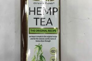 THE ORIGINAL RECIPE HEMP TEA