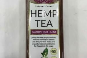 PASSIONFRUIT + MINT HEMP TEA