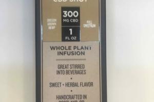 HEMP FLOWER CBD SHOT WHOLE PLANT INFUSION DIETARY SUPPLEMENT