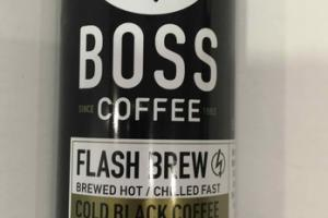 COLD BLACK FLASH BREW HOT COFFEE BEVERAGE