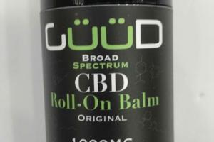 BROAD SPECTRUM CBD ROLL-ON BALM, ORIGINAL