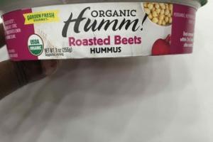 ORGANIC ROASTED BEETS HUMMUS