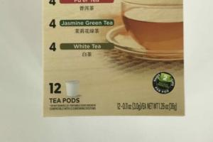 SIMPLY FINE CHINESE TEAS PODS