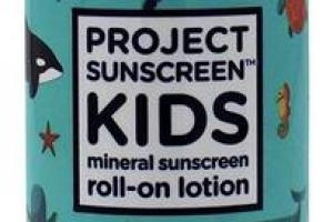 BROAD SPECTRUM SPF 30 WATER RESISTANT KIDS MINERAL SUNSCREEN ROLL-ON LOTION