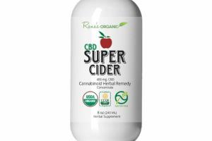 CBD 400 MG SUPER CIDER CANNABINOID REMEDY HERBAL SUPPLEMENT CONCENTRATE