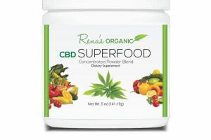 CBD SUPERFOOD DIETARY SUPPLEMENT CONCENTRATED POWDER BLEND