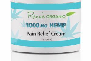 HEMP 1000 MG PAIN RELIEF CREAM