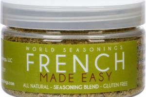 FRENCH MADE EASY SEASONING BLEND