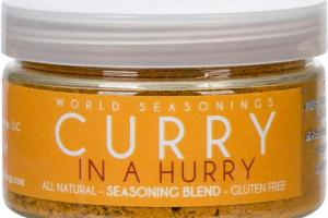 CURRY IN A HURRY SEASONING BLEND
