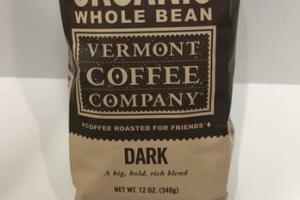 ORGANIC DARK WHOLE BEAN COFFEE