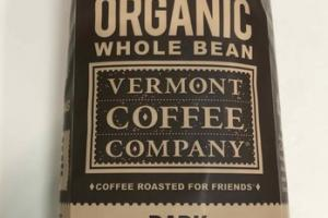 DARK ORGANIC WHOLE BEAN COFFEE