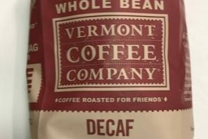 DECAF ORGANIC WHOLE BEAN BLEND