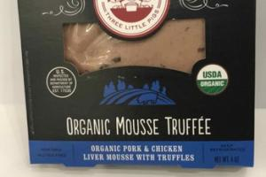 ORGANIC MOUSSE TRUFFEE