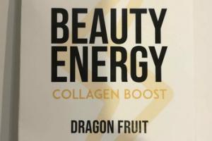BEAUTY ENERGY COLLAGEN BOOST 114 MG GREEN TEA CAFFEINE EXTRACT, DRAGON FRUIT