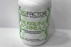 ALKALINE FORMULA DIETARY SUPPLEMENT CAPSULES