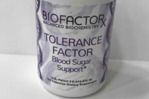 TOLERANCE FACTOR BLOOD SUGAR SUPPORT DIETARY SUPPLEMENT CAPSULES