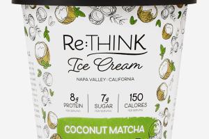 COCONUT MATCHA ICE CREAM