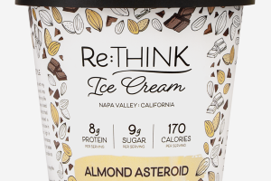 ALMOND ASTEROID ICE CREAM