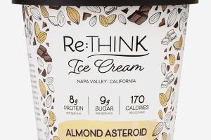 ALMOND ASTEROID ICE CREAM