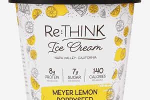 MEYER LEMON POPPYSEED ICE CREAM