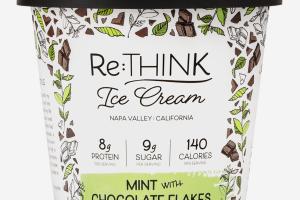MINT WITH CHOCOLATE FLAKES ICE CREAM