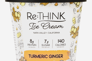 TURMERIC GINGER ICE CREAM