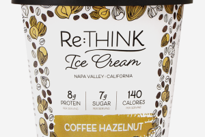 COFFEE HAZELNUT ICE CREAM