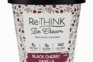 BLACK CHERRY VANILLA ICE CREAM