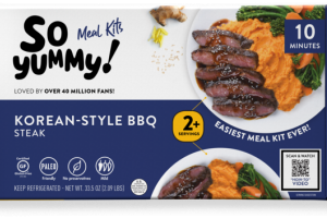 MILD KOREAN-STYLE BBQ STEAK MEAL KITS